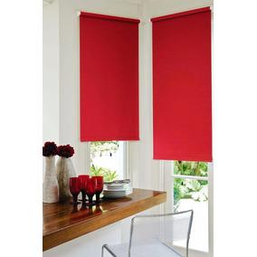 cortinas roller black out rojas 1m x 15m mod e roll r115 - Cortinas Rojas