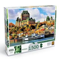 Quebra Cabeça Grow Quebec 1.500 Peças - Puzzle Grow.