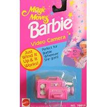 Juguete Barbie Magia Mueve Cámara De Vídeo - Wind It