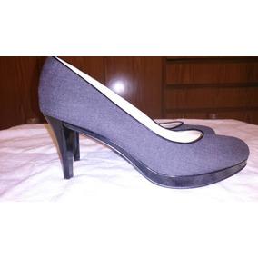 Zapatos Nine West Stilettos Plataforma Negros Y Gris Nuevos!