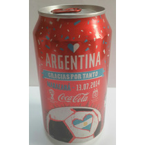 Lata Coca Cola Edic. Limit. Final Copa Del Mundo Brasil 2014