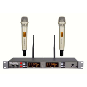 Pronta Entrega - Atl-audio Ugx8ii Skm-ii (2 Microfones) Uhf