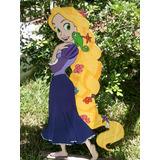 Muñecos Princesas, Jacke, Minnie Y Más En Mdf