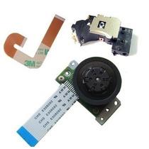 Leitor Óptico Playstation 2 Ps2 Slim+ Flat J+ Motor Kit