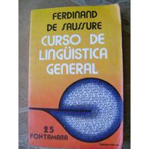 Curso De Linguistica General. Ferdinand De Saussure. $199
