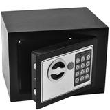 Cofre Eletrônico Digital Teclado Com Senha + 2 Chaves Sb17