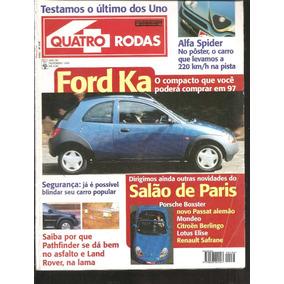 Revista Quatro Rodas Novembro De  N Ford Ka