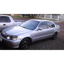 Honda Civic 99 Ex Completo + Couro + Magazine 6 Cds + Modulo