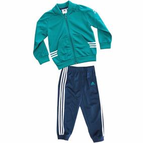 Conjunto Pants Con Sudadera Training Niño Bebe adidas Ak2595