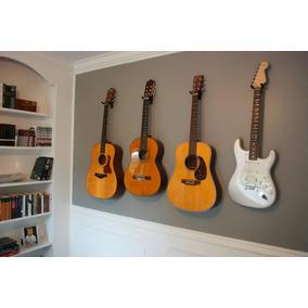 Suporte De Parede P/ Guitarra Violão Baixo Ukulele Violino