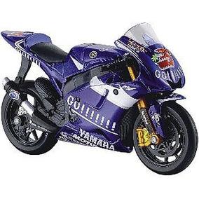 Miniatura Moto Gp Yamaha Gauloises Maisto 1:18 Frete Gratis