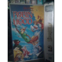 Vhs Película Robin Hood Anime Manga Walt Disney