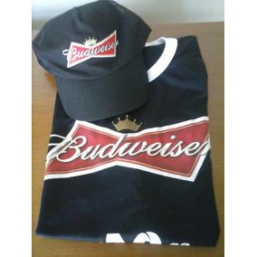 Camiseta + Boné Budweiser Copa Do Mundo 2014