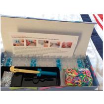 Kit Color Loom Juego De Ligas Caja 600 Ligas Xd22