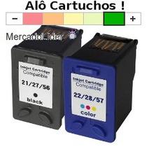 Cartucho Jato De Tinta Hp 21 E 22 Impresora Psc 1410 F350