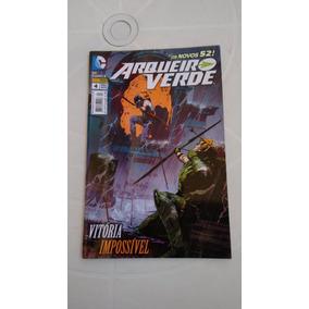 Arqueiro Verde Nº 4 - Os Novos 52 - Ed. Panini - 2013