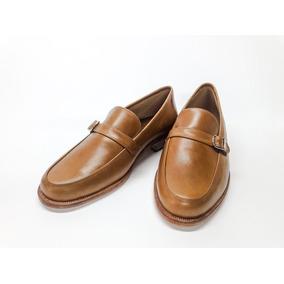 Zapatos Mocasines De Vestir En Cuero California Caramel