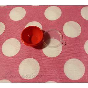 Miniatura Tigela Vermelha Tupperware Blythe Pullip