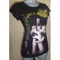 Playera Jimmy Hendrix 2013 Talla Chica Dama.envio Gratis