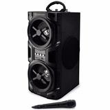 Parlante Portátil Bluetooth Radio Usb + Micrófono Zonalaptop