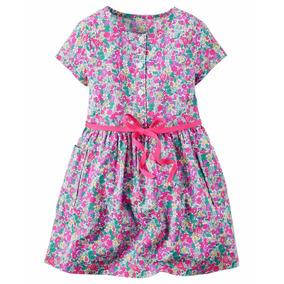 Vestido Carters Oshkosh De Nenas Importados Nuevos