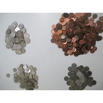 Moedas De 1 A 25 Cents De Dólar Americano Várias Datas