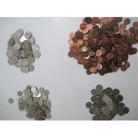 Moedas 1, 5, 10, 25, 50 Cents E 1 Dólar Usa Várias Datas