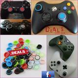 10 Gomas Palancas Controles Xbox 360+spinner