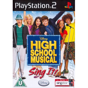 Playstation 2 High School Musical Sing It Ps2 Juego Nuevo!!