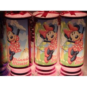 Minnie Mouse Centros De Mesa, Recuerdos, Lamparas 1regalo