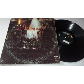 Abba Super Trouper Disco Lp Vinyl Rca Victor 1981