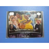 Cv Kobe Bryant 1998 Upper Deck Game Date Lakers Nba Hof