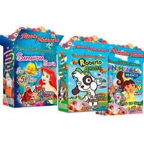 Invitaciones Personalizadas Tipo Cereal Ya Impresas