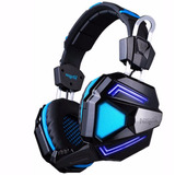 Headset Auriculares Gold 7.1 Sony Ps4 Led Mic Pc Pulse