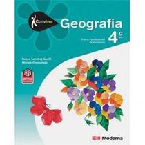 Livro Conviver Geografia 4 º Ano - Usado - Editora Moderna