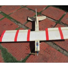 Aeromodelo Eletrico Asa Alta Trenador Artesanal