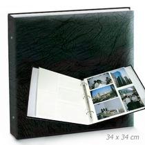 Álbum Fotografias Gigante Luxo, Para 600 Fotos De 10x15cm