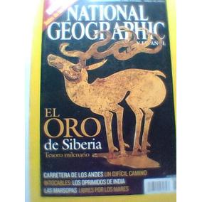 Revista National Geographic El Oro De Siberia En Español