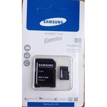 Memoria Micro Sd Samsung Nueva De 64gb Con Adaptador Sd.