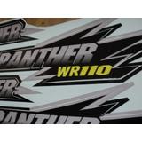 Kit De Calcos Cuatriciclos Panther R110 R200 Wr200 Wr250