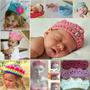 Diademas Y Tiaras Tejidas Para Bebe Y Niñas