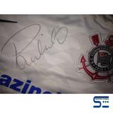 Camisa Do Corinthians Autografada Pelo Paulinho - Raridade