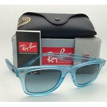 Ray Ban Wayfarer Ice Pop Blueberry Nuevos Originales