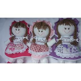 Boneca De Pano ( 35cm ) Decoração, Bebê, Menina, Festa