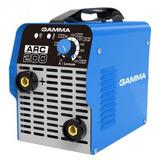 Soldadora Arc 200 Inverter 10-200a Electrónica Gamma G3473ar