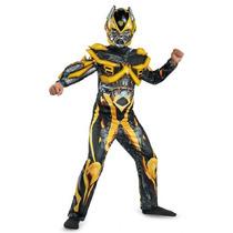 Disfraz De Transformers Bumblebee Para Niño Talla S