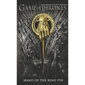 Prendedor Pin Game Of Thrones Mano Del Rey Ned Stark
