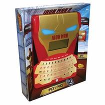 Smart Pad Iron Man 84 Atividades - Yellow 6153