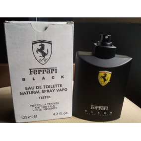Perfume Ferrari Black 125 Ml 100% Original Cod 13 049