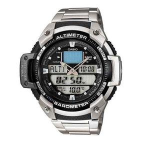 Relógio Casio Sgw-400-hd-1bv Altimetro Barometro Aço 100%